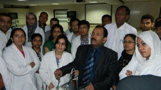 Surgeon & Gynecologist  Practicing Surgeons Knot Demonstration by Prof. Dr. R K Mishra
