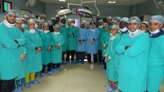 Live laparoscopic Mayomectomy Surgery Demonstration by Prof. Dr.R. k. Mishra