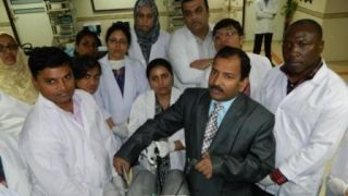 Hands On Practice of Extracorporeal Weston Knot Demonstration By Prof.Dr.R. K. Mishra.