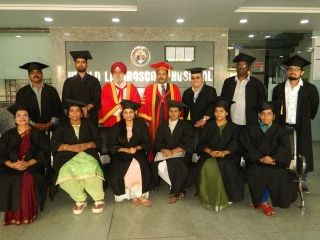 Graduation and Certification Ceremony Program of the D.MAS Batch April 2019. Group photograph of the doctors with Prof. Dr. R. K. Mishra and Dr. J.S. Chowhan at World Laparoscopy Hospital.