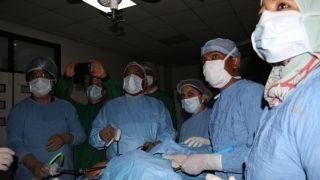 Live Demonstration of Total Laparoscopy Hysterectomy, Laparoscopy cholecystectomy and Laparoscopy appendectomy  perform by Dr R.K.Mishra.