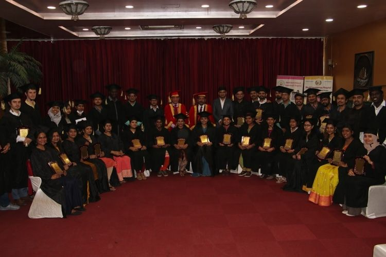 Convocation and  certification ceremony of the Trainees Doctors of the Fellowship in Minimal Access Surgery at Pacific Hotel with Prof.Dr. R.K. Mishra, Dr R. N. Bansal.