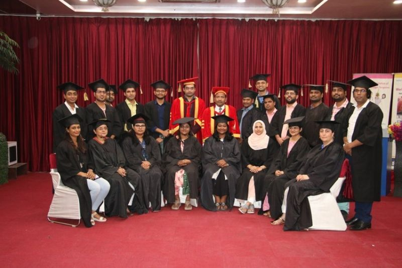 Graduation Day and Certification Ceremony Program of the Trainee doctors of the Diploma Batch in Minimal Access Surgery at World Laparoscopy hospital With Prof Dr. R. K Mishra and Dr. Rahul Pandey.