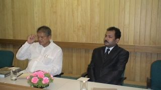 Chief Minister of Uttarakhand with Dr R K Mishra
