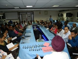 First day of July  batch 2017 Laproscopic Surgery Training, Port Access and Hands Instruments Designing Demonstration by Prof Dr. J.S. Chowhan