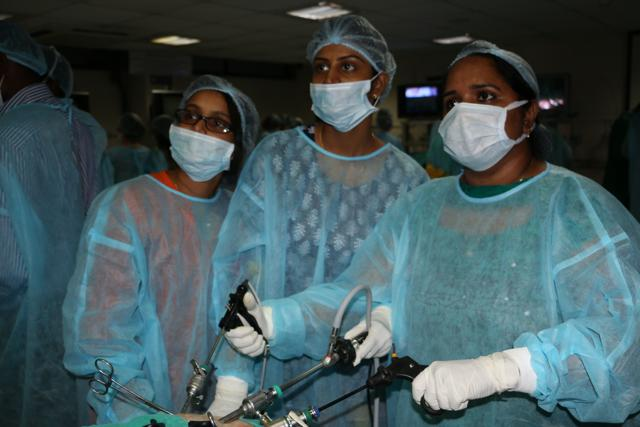 Laparoscopic Surgery Training Batch August 2016 at WLH