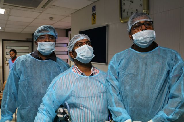 Operative Laparoscopy Training