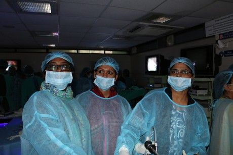 Hands On Training in Laparoscopy