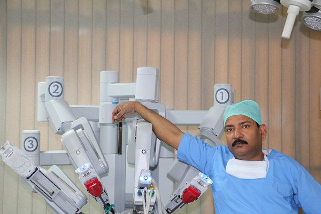 Robotic Surgery Training September 2016