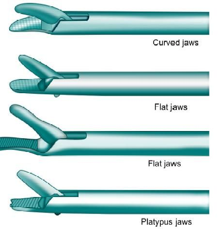 Different Types of Jaws of Needle holders