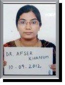 Dr. Afser Khanum