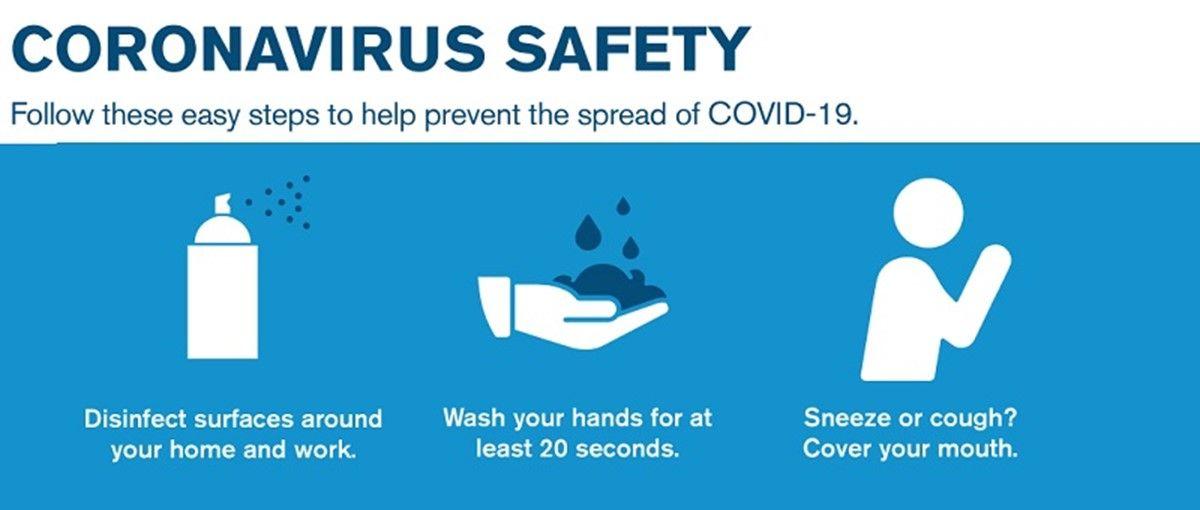Corona Virus Safety Feature