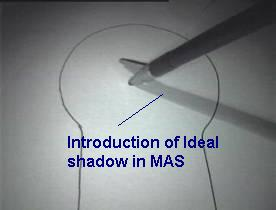 ideal shadow in MAS