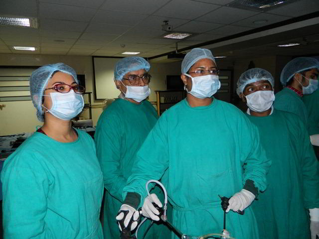 Center of Excellence in Laparoscopic Surgery