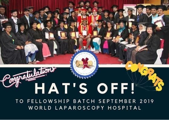 Fellowship in Minimal Access Surgery Batch September 2019