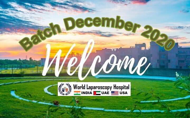 December Batch Laparoscopic Training