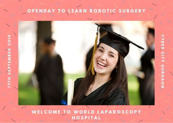 Open Day to Learn Laparoscopic Surgery at World Laparoscopy Hospital