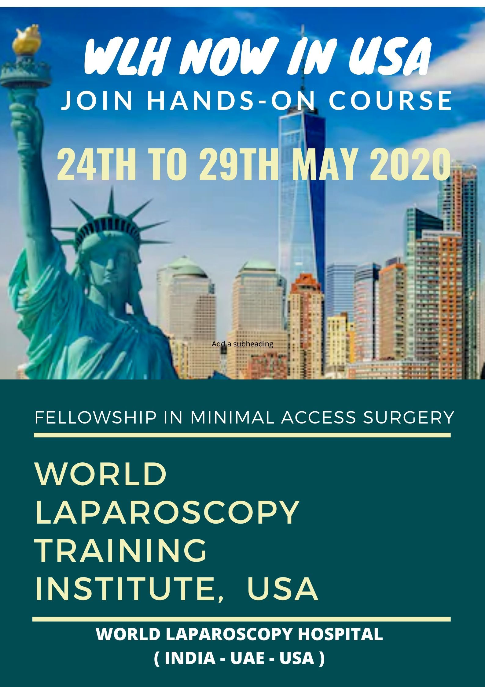 Laparoscopic Training in USA