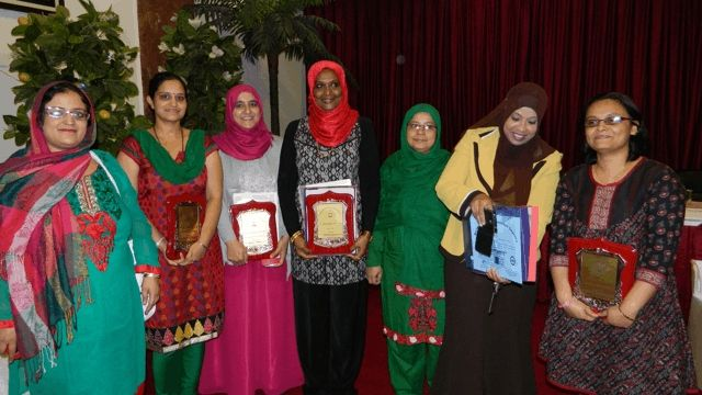 Sharing the Graduation and Award of Diploma