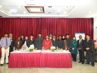 Certification ceremony of 148th month and 148th batch of Training Course September 2012.