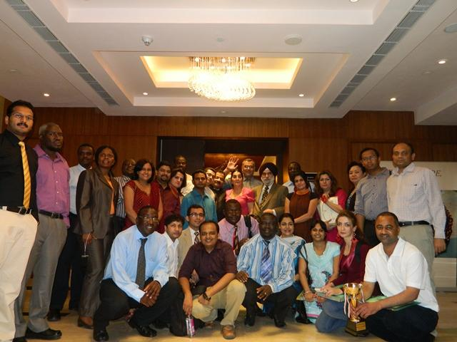 Certification ceremony of 147th month and batch of Training Course August 2012