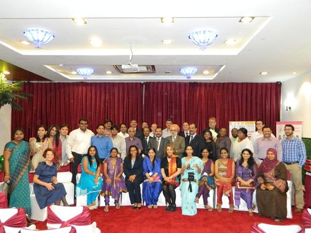 Certification ceremony of 149th month and 149th batch of Training Course October 2012.