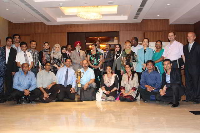 Certification ceremony of 146th month and batch of Training Course July 2012.