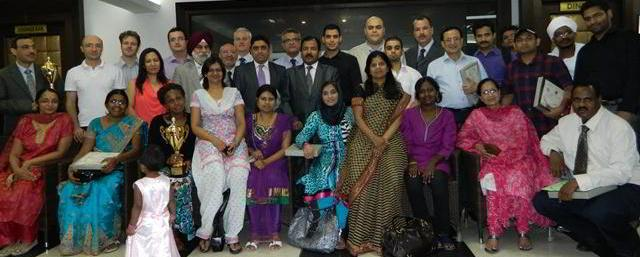 Certification ceremony of 145th month and batch of Training Course June 2012