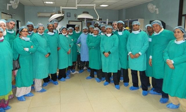 Laparoscopic Training at World Laparoscopy Hospital