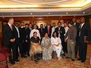 Certification ceremony of 132nd batch of Training Course May 2011