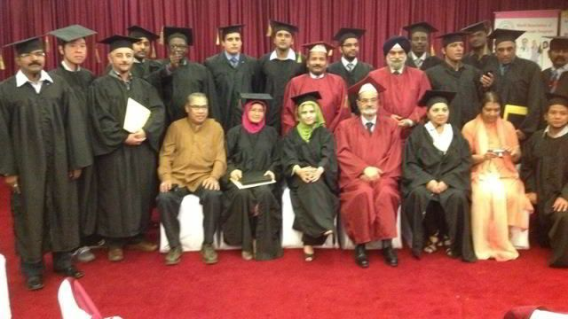Certification ceremony of 160th batch of Fellowship and Diploma in Minimal Access Surgery, March 2013