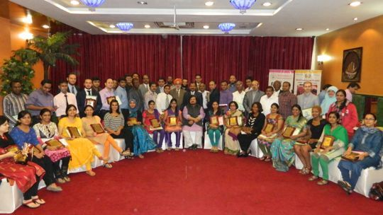Certification ceremony of 195 batch of Fellowship and Diploma in Minimal Access Surgery, November 2014.