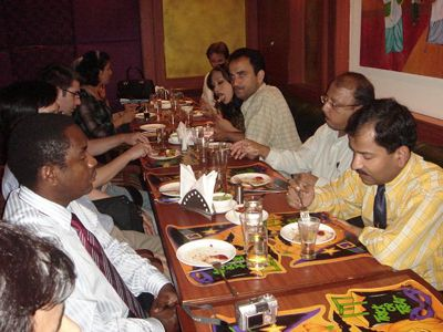 Farewell party of F.MAS (Fellowship in Minimal Access Surgery) (Batch October 2006)