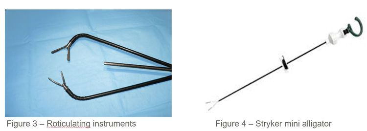 Instruments used in SILS