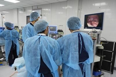 Endoscopic Training at WLH
