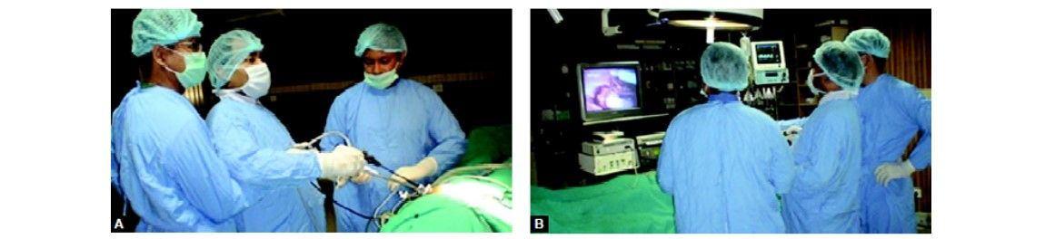 Single incision laparoscopic surgery