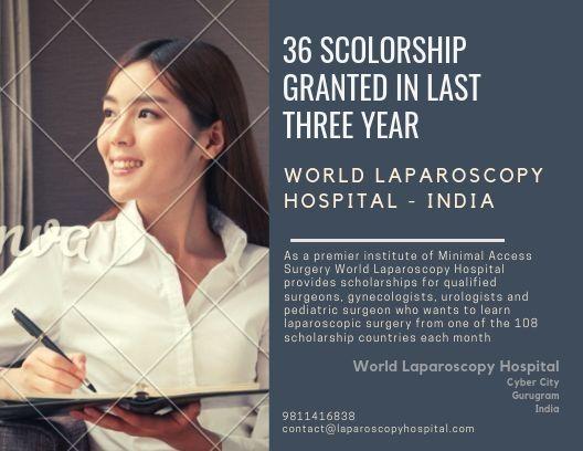 Scholarship for Laparoscopic Surgery