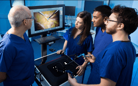 Virtual Reality Training System for TAPP Inguinal Hernia Repair