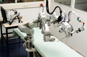 Better Surgery With New Surgical Robot With Force Feedback