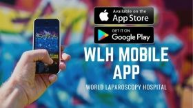 Download the World Laparoscopy Hospital Mobile App