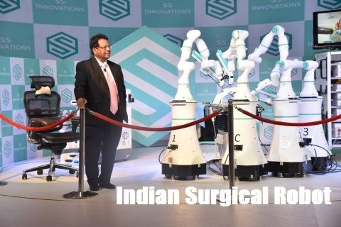 Indian Surgical Robot Mantra