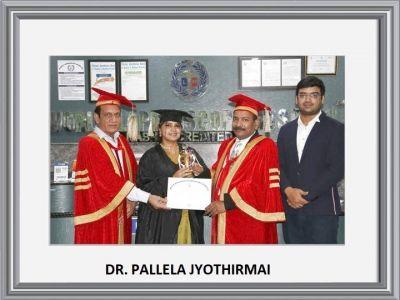 Dr. Pallela Jyothirmai